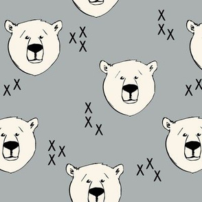 Polar Bear // Grey