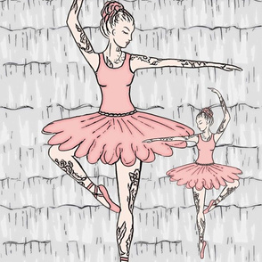 Tattooed Ballerinas