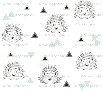 hedgehogs mint