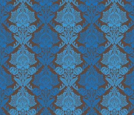 Rococo Damask 3l fabric by muhlenkott on Spoonflower - custom fabric
