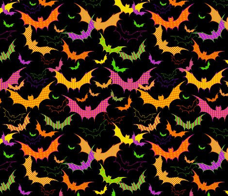 Going Batty fabric by bags29 on Spoonflower - custom fabric
