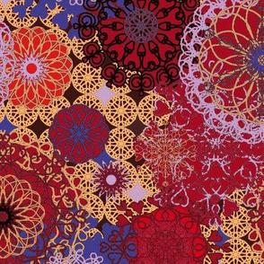 Spirals - rich tones