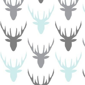 deers grey blue