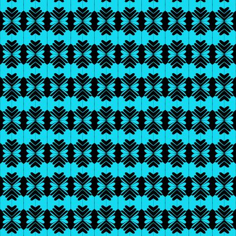 Holiday Bows Blue fabric by eve_catt_art on Spoonflower - custom fabric