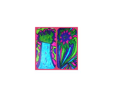 Rebecca fabric by peaceinmeandyou on Spoonflower - custom fabric