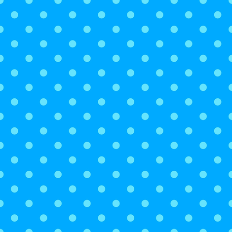 Blue on Blue Polka Dot fabric by fern&sterling on Spoonflower - custom fabric