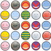 Korosensei expressions - White - Big