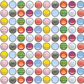Korosensei expressions - White - Small