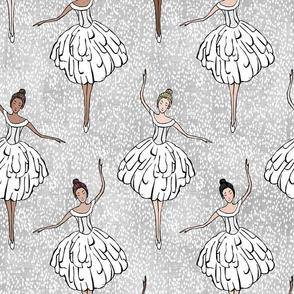 Corps de Ballet White