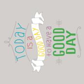 Good Day Calendar Tea Towel 2015