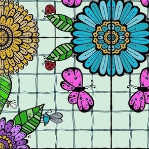 Tiled Garden Mint