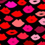 lips // lipstick kisses beauty makeup fashion girly illustration print