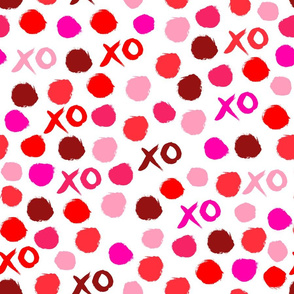 xoxo // lipstick colors heart love valentines red pink