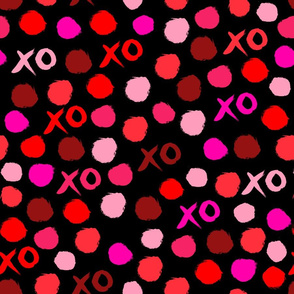 XOXO // Pinks valentines red pink love heart