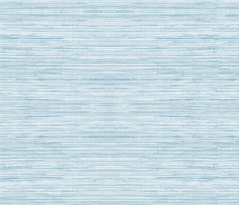 Grasscloth Fabric and Wallpaper in Coastal Blue fabric by willowlanetextiles on Spoonflower - custom fabric