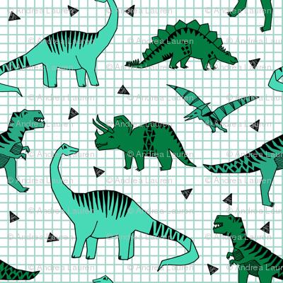 dino // green dinos dinosaurs prehistoric kids t-rex