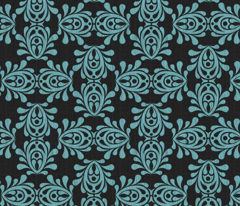 bluewood-DAMASK_lg fabric by glimmericks on Spoonflower - custom fabric