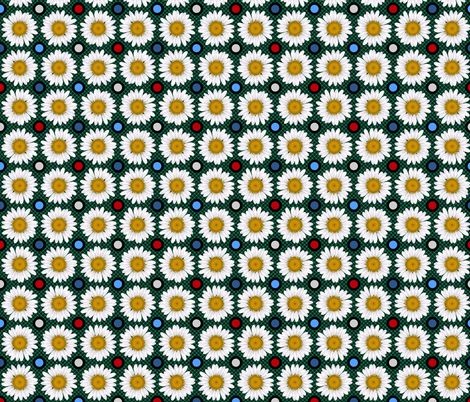 Daisy (Mary Poppins Coordinate) fabric by vannina on Spoonflower - custom fabric