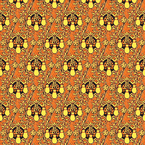 Autumn Lamps fabric by amyvail on Spoonflower - custom fabric