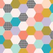 hexagon // spring // small