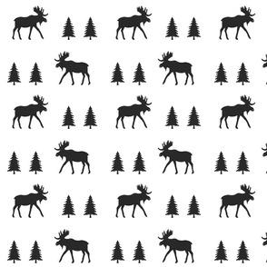 moose trot // black