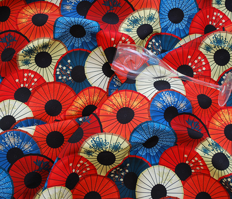 Chinese umbrellas (medium scale)