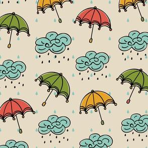 Rainy Umbrella Days...