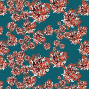 flowerbursts-tealred
