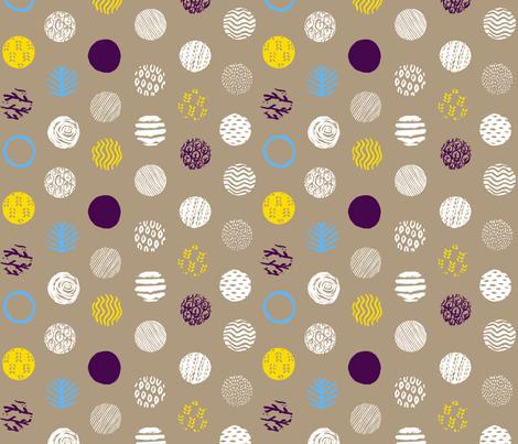 treespecimens-purple fabric by orozco_studio on Spoonflower - custom fabric