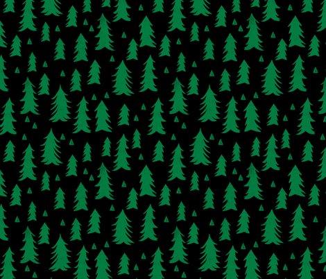 Trees_xmas_black_kelly_green_shop_preview