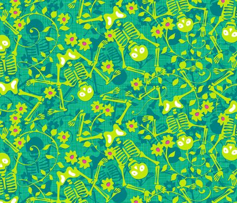 Sugar Rush Mojito fabric by spellstone on Spoonflower - custom fabric