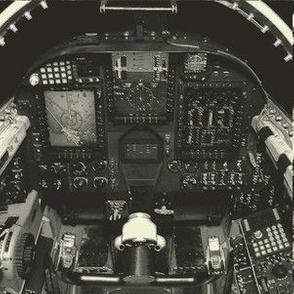 U-2 Cockpit Black