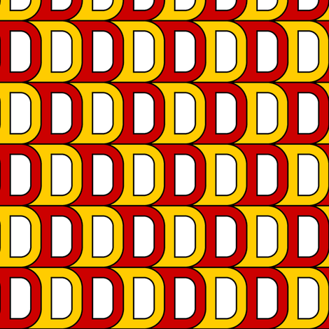 D 1m x2 fabric by sef on Spoonflower - custom fabric