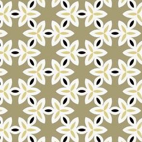 Khaki, Brown and White Pattern