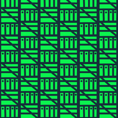 Mowing Grass fabric by eve_catt_art on Spoonflower - custom fabric