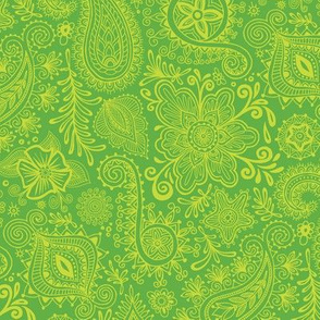 Cosmic Henna_Green