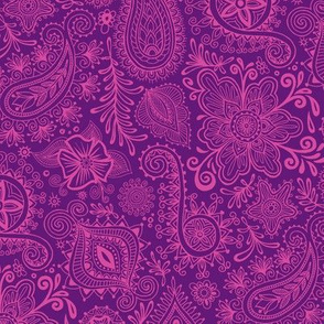 Cosmic Henna_Purple
