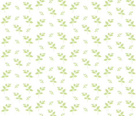 Leaves of Green-kiwi 525 fabric by drapestudio on Spoonflower - custom fabric