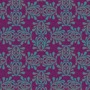 FLAMING_TEAL_purple-DAMASK_lg