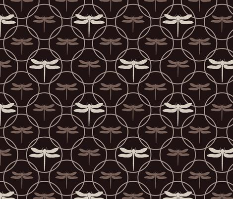 dragonfly fabric by juditgueth on Spoonflower - custom fabric