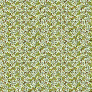 Green creepy crawlies