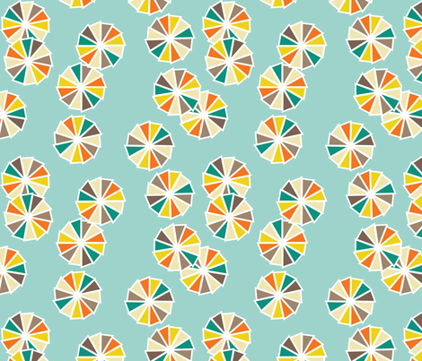 sun_umbrellas_from_the_sky fabric by pip_pottage on Spoonflower - custom fabric