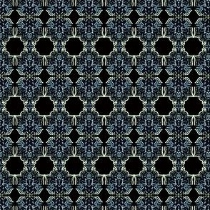 Midnight Damask