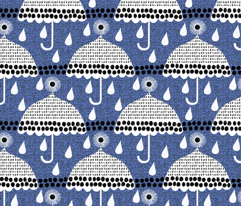 rainy days fabric by ottomanbrim on Spoonflower - custom fabric
