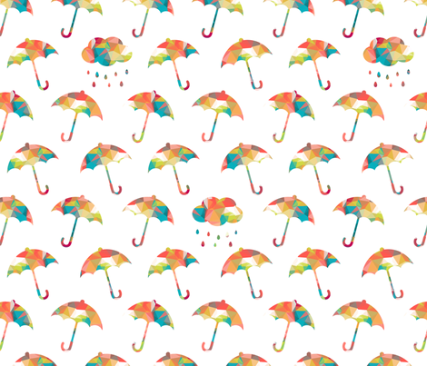 Umbrella Contest fabric by sugarxvice on Spoonflower - custom fabric