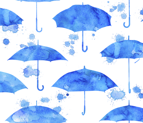 Rainy Day fabric by logan_spector on Spoonflower - custom fabric