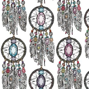 gemstone dreamcatcher small