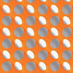 Silver-orange
