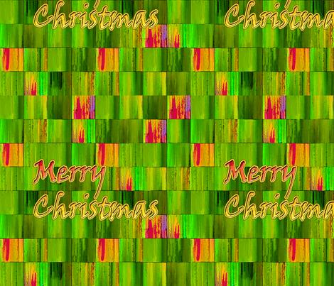 Green Christmas fabric by koalalady on Spoonflower - custom fabric