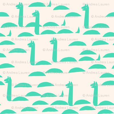 Nessie - Light Jade by Andrea Lauren